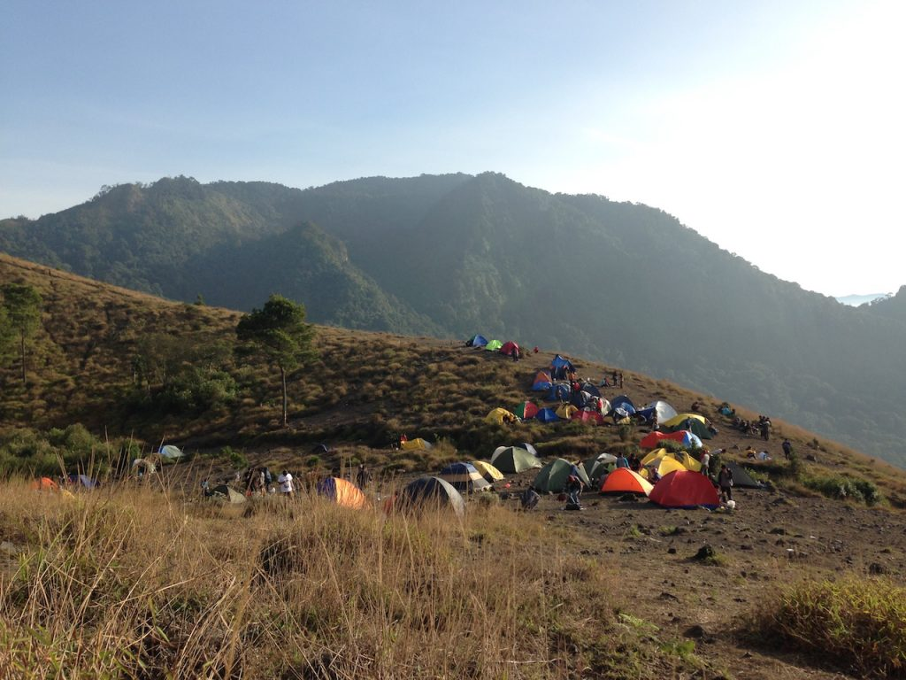 Area camp di puncak