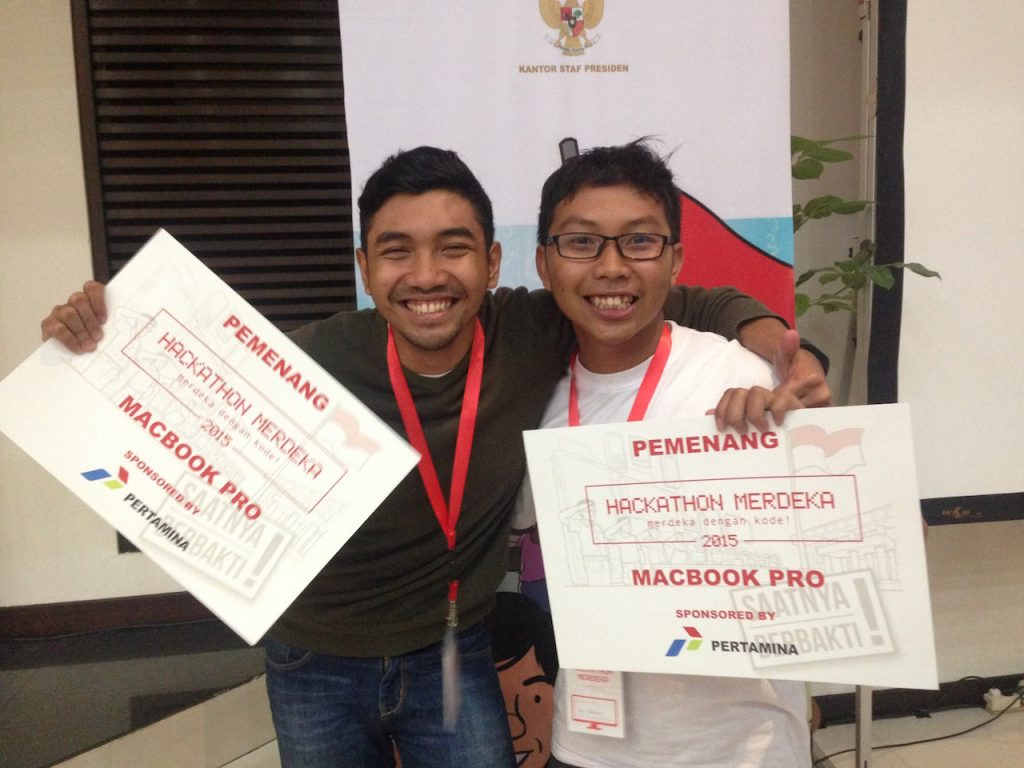 partner in crime hackathon sejak 2012