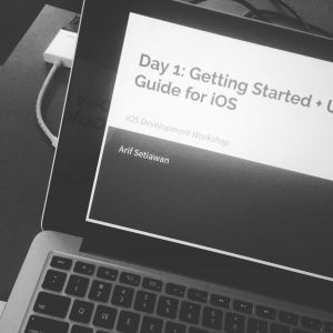 iOS Development Workshop for Beginner