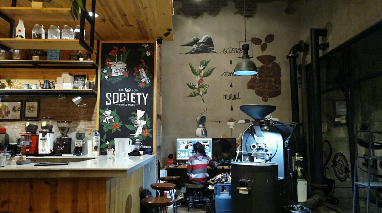 Society Coffee House Purwokerto